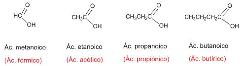 problemas nomenclatura ácidos carboxílicos